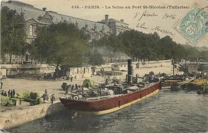 Paris, I er, Port Saint Nicolas, les Tuileries