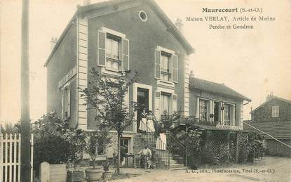 "CPA FRANCE 78 ""Maurecourt, Maison VERLAY, article de Marine"""