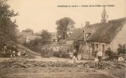 """CPA FRANCE 78 """"Orgerus, Ferme de la Vallée des Fosses"""""""
