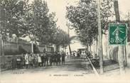 "30 Gard CPA FRANCE 30  ""Aigues Vives, l'avenue"""