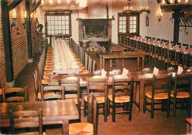 "/ CPSM FRANCE 62 ""Hesdin, hôtel restaurant Chez Gaston"""