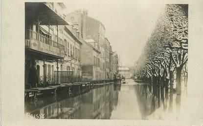 "CARTE PHOTO FRANCE 78 ""Poissy, inondations """