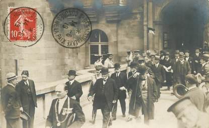 """CARTE  PHOTO  FRANCE  78  """"Saint Germain en Laye, Congrès de la Paix"""""""