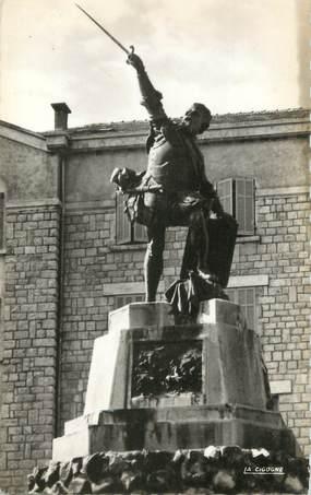 "/ CPSM FRANCE 20 ""Corse, Bastelica, statue de Sampiéro"""