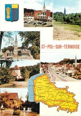 """/ CPSM FRANCE 62 """"Saint Pol sur Ternoise"""""""