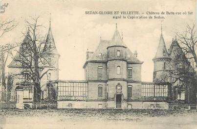 """/ CPA FRANCE 08 """"Sedan Gloire et Vilette, château de Belle vue"""""""