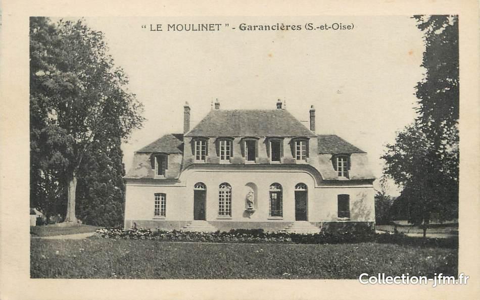 Cpa france 95 le moulinet garanci res 95 val d 39 oise for Liste communes oise