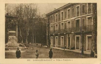 """/ CPA FRANCE 34 """"Lamalou le Haut, villa frédéric"""""""