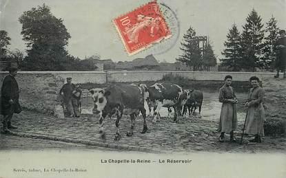 """CPA FRANCE 77 """"La Chapelle la Reine, le Réservoir"""""""