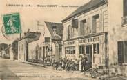 """77 Seine Et Marne CPA FRANCE 77 """"Lieusaint, Maison GIBERT, la route Nationale"""""""