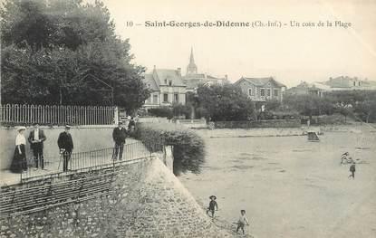 """/ CPA FRANCE 17 """"Saint Georges de Didonne, un coin de la plage"""""""