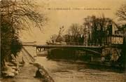 """95 Val D'oise CPA FRANCE 95  """"L'Isle Adam, L'Oise, ,Le petit bras du Moulin"""""""