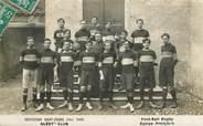 "01 Ain CARTE PHOTO FRANCE 01 ""Bourg en Bresse, Institution Saint Pierre, 1909, Albert'Club, Football et Rugby"""