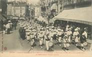"""01 Ain CPA FRANCE 01 """"Bourg en Bresse, concours interrégional de la Fédération des Patronages de France du Sud Est, 1911, le défilé, avenue d'Alsace Lorraine"""""""