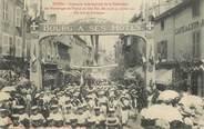 """01 Ain CPA FRANCE 01 """"Bourg en Bresse, concours interrégional de la Fédération des Patronages de France du Sud Est, 1911, le défilé, Arc de Triomphe"""""""