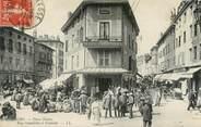 """01 Ain CPA FRANCE 01 """"Bourg en Bresse, la Place Neuve, rues Gambetta et centrale"""""""