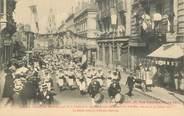 """01 Ain CPA FRANCE 01 """"Bourg en Bresse, concours interrégional de la Fédération des Patronages de France du Sud Est, 1911, le défilé"""""""