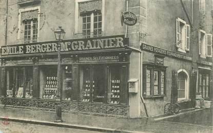 """CPA FRANCE 01 """"Bourg en Bresse, Maison Emile BERGER, Graines potagères """""""
