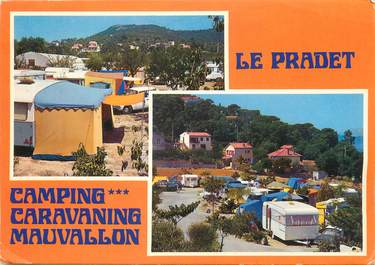 "/ CPSM FRANCE 83 ""Le Pradet"" / CAMPING"
