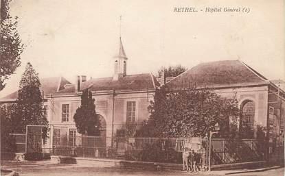 """/ CPA FRANCE 08 """"Rethel, hôpital général"""""""