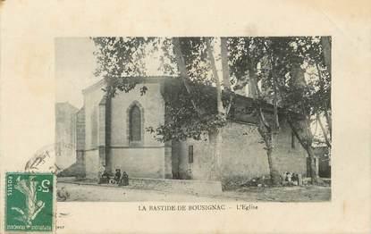 """/ CPA FRANCE 09 """"La Bastide de Bousignac, l'église"""""""