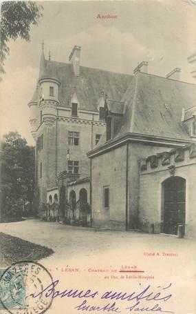 "/ CPA FRANCE 09 ""Léran, château"""