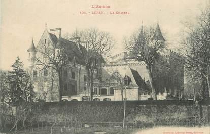 """/ CPA FRANCE 09 """"Léran, le château"""""""