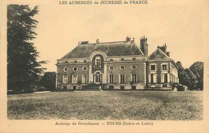 """/ CPA FRANCE 37 """"Tours, auberge du Grandmont"""""""