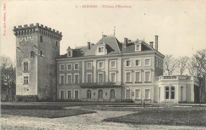 """/ CPA FRANCE 47 """"Andiran, château d'Hordosse"""""""