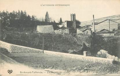 """CPA FRANCE 63 """"Saint Amant Tallende, La Papeterie"""""""