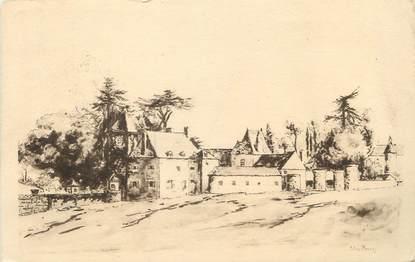 """/ CPA FRANCE 53 """"Saulges, château de Soulgé"""""""