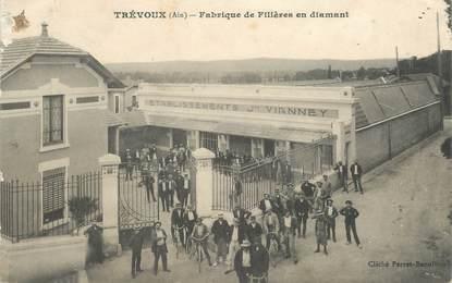 """CPA FRANCE 01 """"Trévoux, la Fabrique de Filières en diamant"""""""