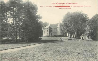 """/ CPA FRANCE 09 """"Carère, château à Montesquieu Avantés près Saint Girons"""""""