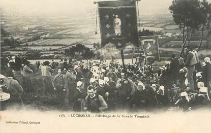 """/ CPA FRANCE 29 """"Locronan, pélérinage de la grande Troménie"""""""