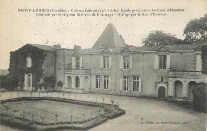 """/ CPA FRANCE 33 """"Saint Loubès, château Labatut"""""""