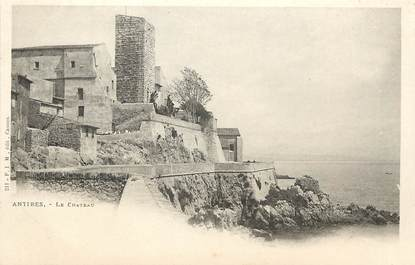 "CPA FRANCE 06 ""Antibes, le Chateau"""