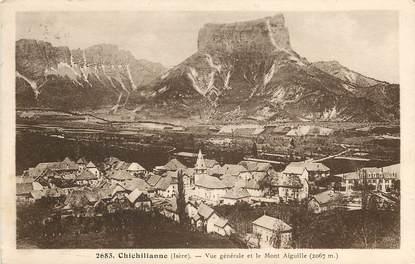 """CPA FRANCE 38 """"Chichilianne, vue générale et le mont Aiguille"""""""