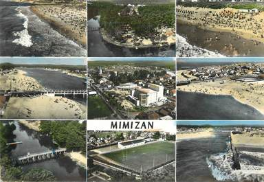 "/ CPSM FRANCE 40 "" Mimizan  plage """
