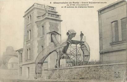 """/ CPA FRANCE 75014 """"Observatoire de Paris, grand equatorial coudé"""""""
