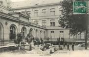 """75 Pari / CPA FRANCE 75016 """"Paris Auteuil, école normale d'instituteurs de la Seine, cour d'honneur"""""""