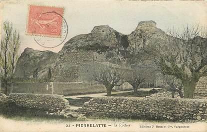 """CPA FRANCE 26 """"Pierrelatte, le Rocher"""""""