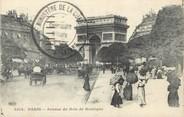 """75 Pari / CPA FRANCE 75016 """"Paris; avenue du Bois de Boulogne"""""""