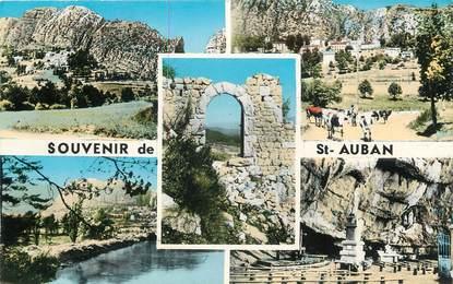 """/ CPSM FRANCE 06 """"Souvenir de Saint Auban"""""""