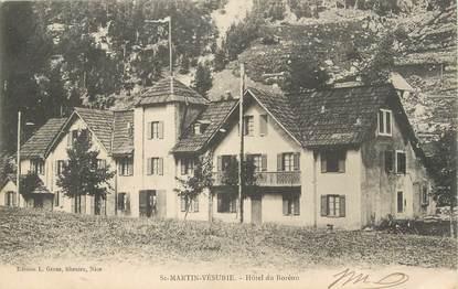 """/ CPA FRANCE 06 """"Saint Martin Vésubie, hôtel du Boréon"""""""