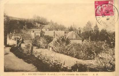 """/ CPA FRANCE 37 """"Rochecorbon, le chemin du côteau"""""""