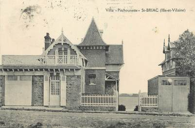 "/ CPA FRANCE 35 ""Saint Briac, villa Pitchounette"""