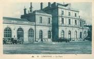 """33 Gironde / CPA FRANCE 33 """"Libourne, la gare """""""