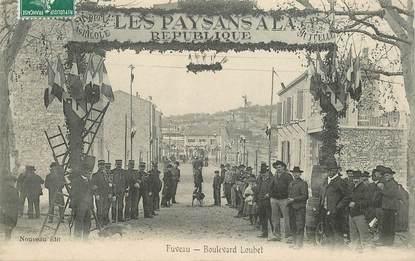 """CPA FRANCE 13 """"Fuveau, boulevard Loubet"""""""