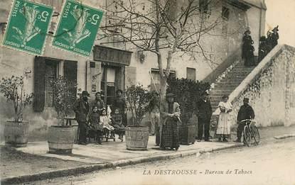 """CPA FRANCE 13  """"La Destrousse, bureau de tabacs"""""""