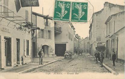 "CPA FRANCE 13  ""Auriol, la grande rue"""